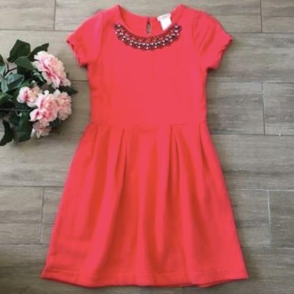 bb82365c5 J Crew Dresses | Crewcuts Girls Dress W Jeweled Collar | Poshmark
